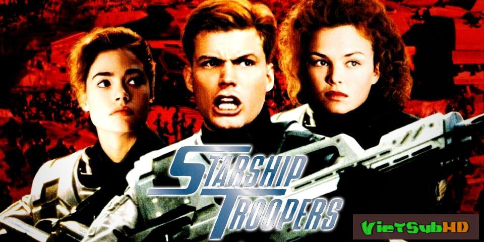 Phim Nhện Khổng Lồ 1 VietSub HD | Starship Troopers 1997