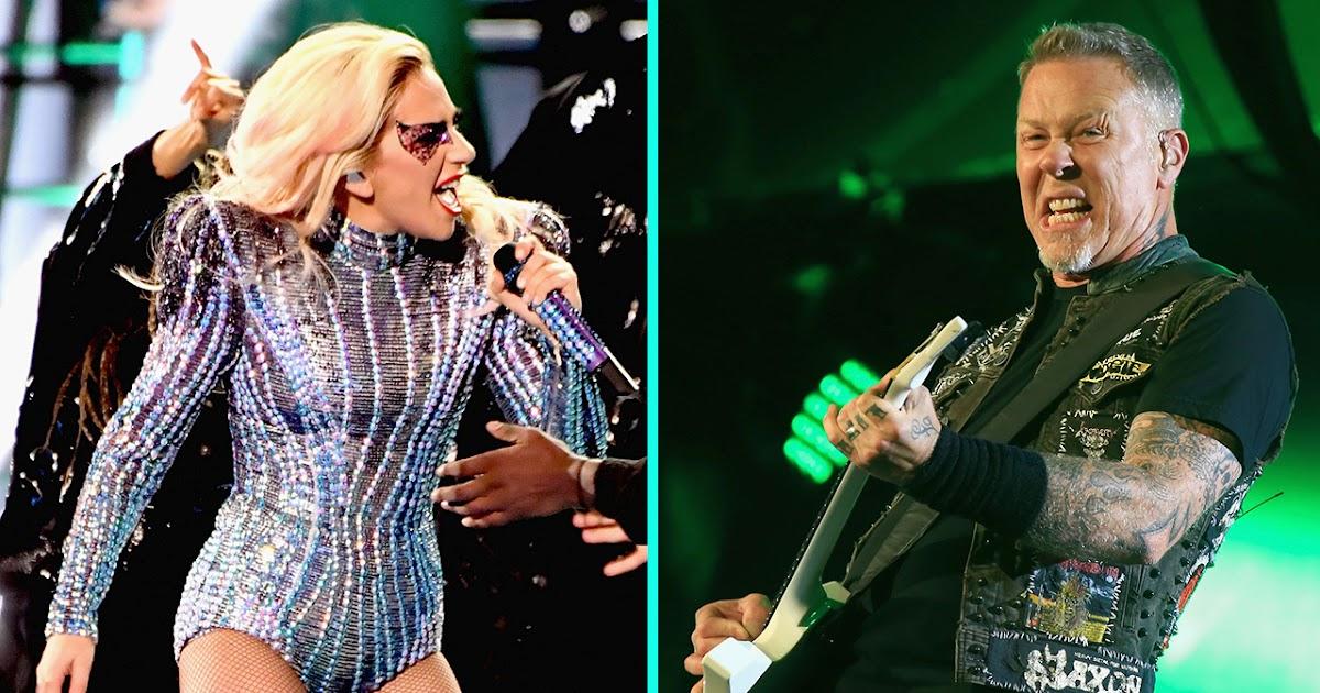 Resultado de imagen para Metallica y Lady Gaga