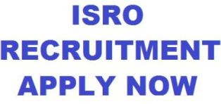 ISRO Recruitment 2019 for Civil Engineer Jobs