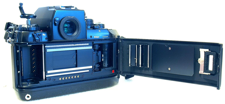 Nikon F4 with MB-20 grip (4xAA cells) #299 0