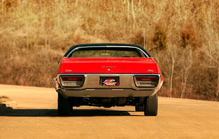 1972 Plymouth Satellite Sebring 318 Rear Picture