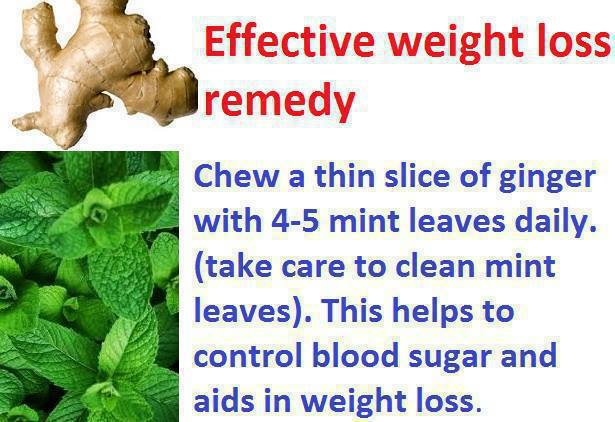 Effective Weight loss Remedy