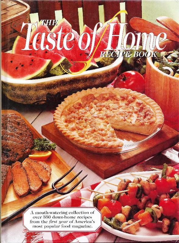The iowa housewife cookbook reviewse taste of home recipe book the taste of home recipe book forumfinder Choice Image