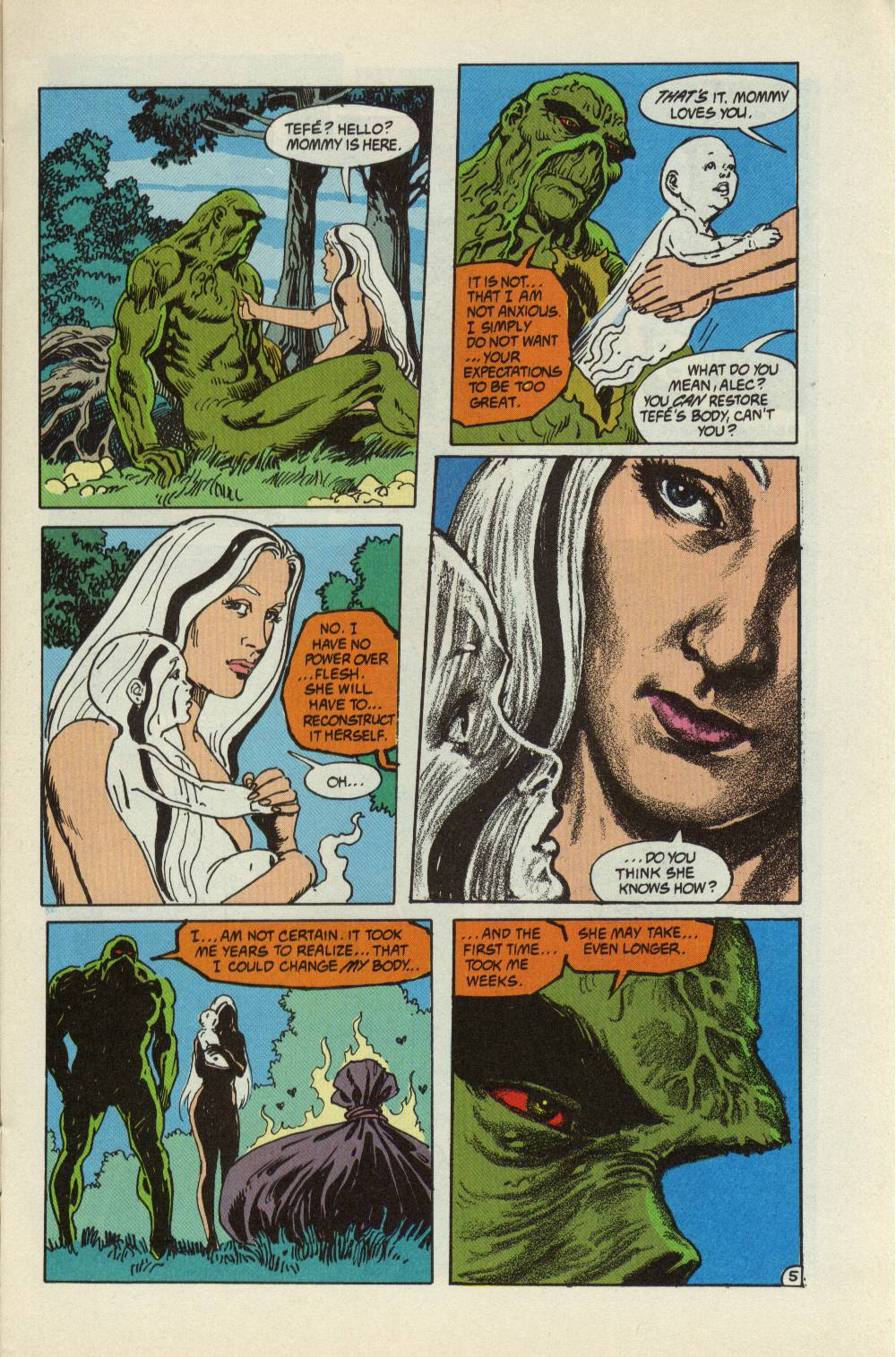 Swamp Thing (1982) Issue #99 #107 - English 6