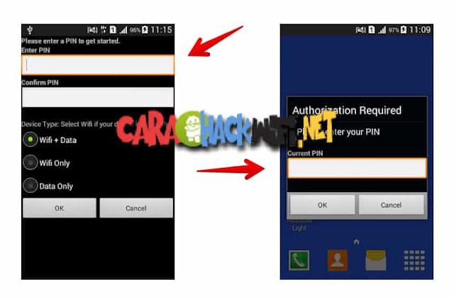 Aplikasi internetlock untuk android