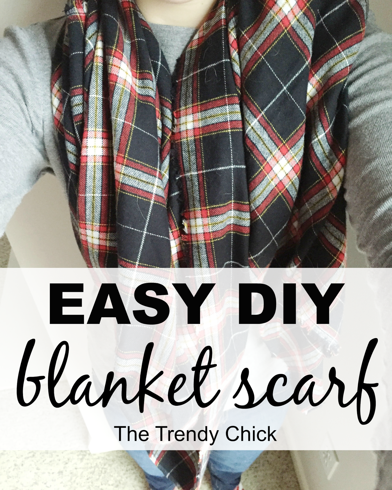 DIY Blanket Scarf!