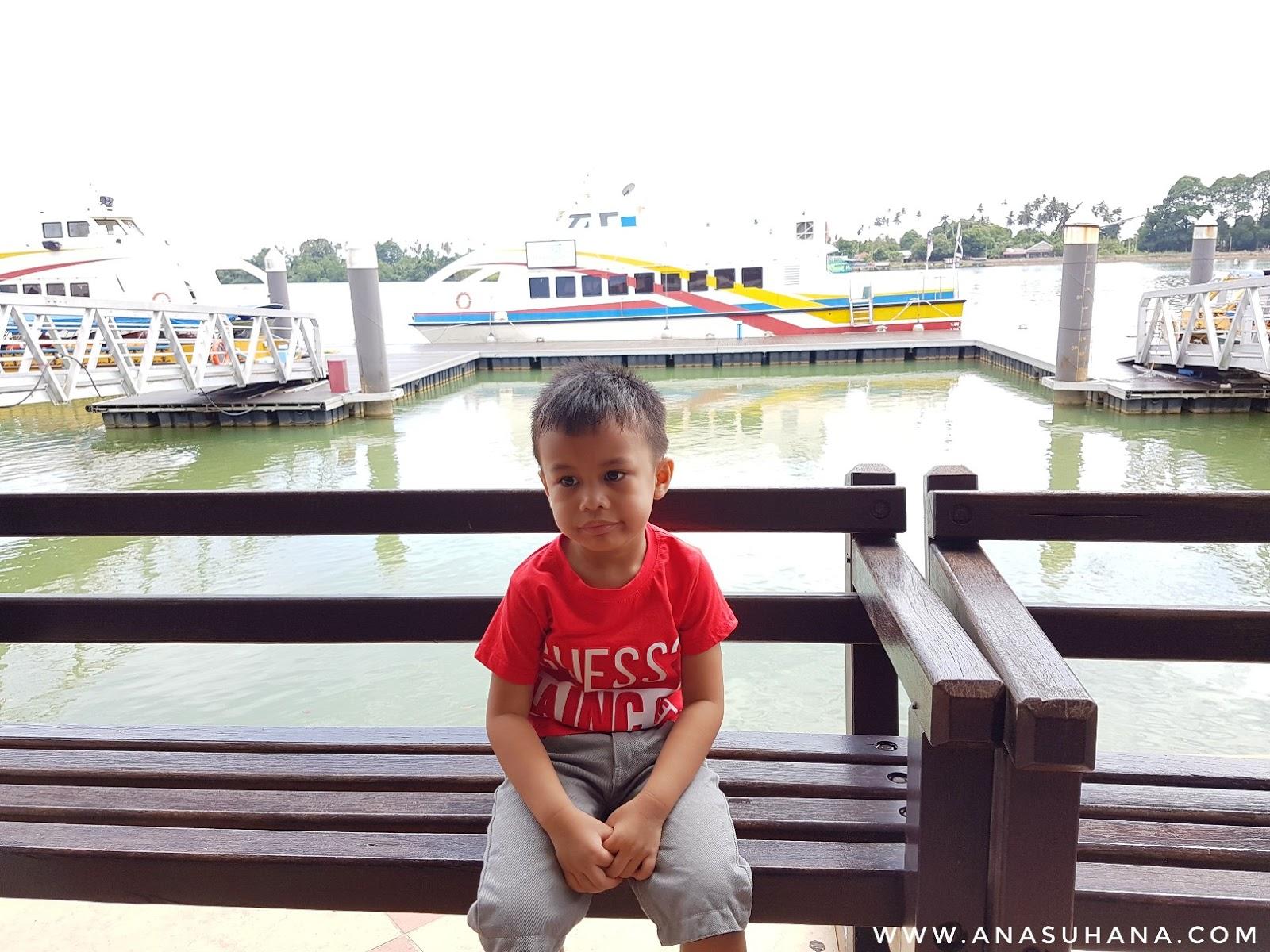 River Cruise Taman Tamadun Islam, Kuala Terengganu.