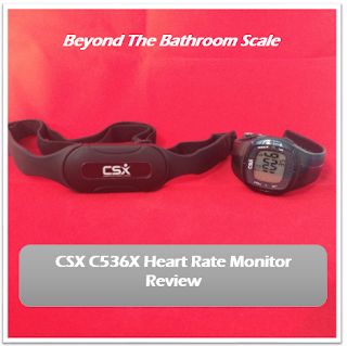 CSX C536X Heart Rate Monitor Review