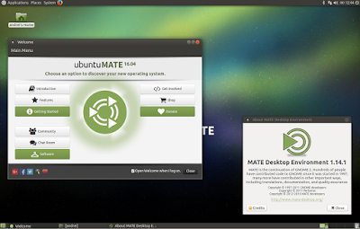 MATE 1.14 Ubuntu MATE 16.04