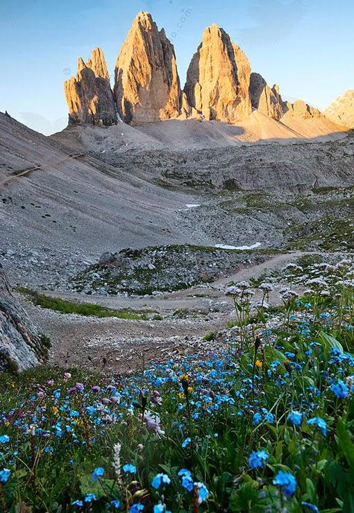 Dolomites Europe, Di Lavaredo, Tre Cime