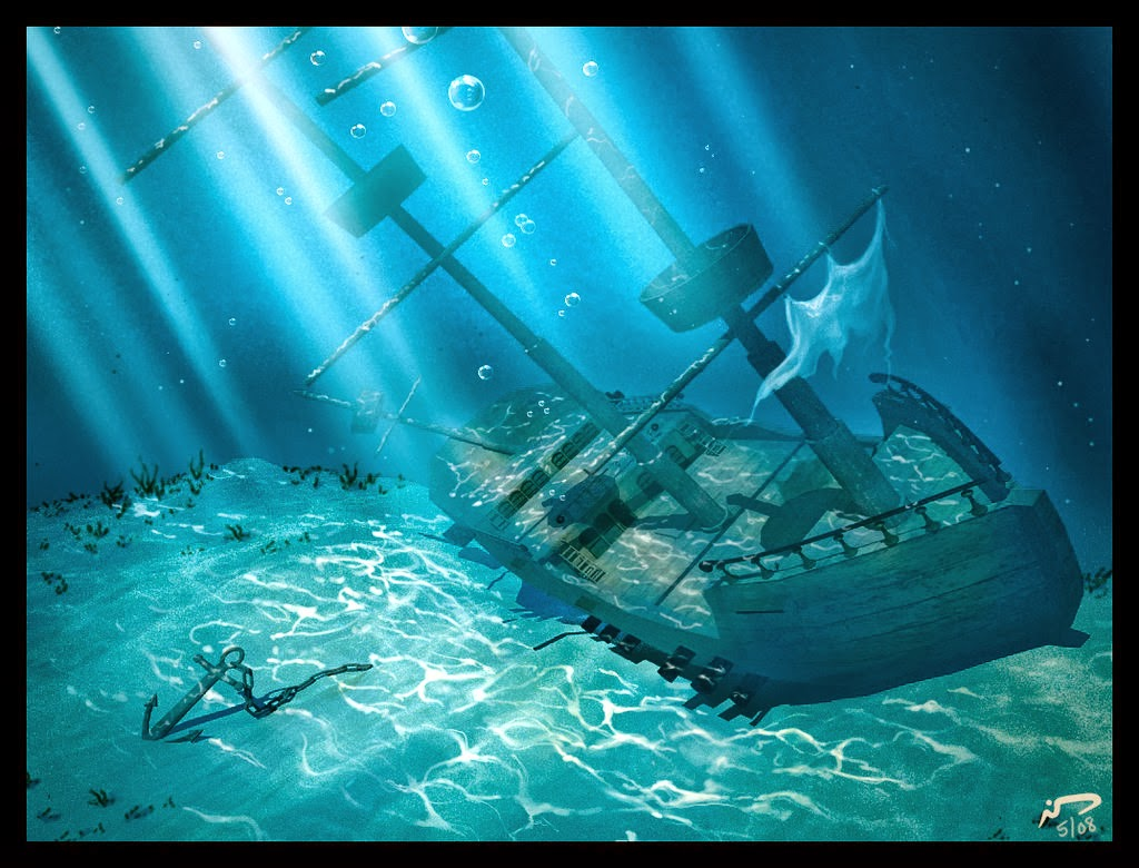 Join Scientists as They Explore the Sunken USS ... |Sunken Ships Underwater