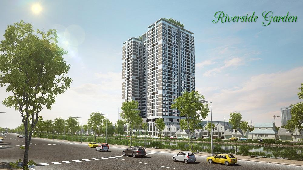 Phối cảnh chung cư Riverside