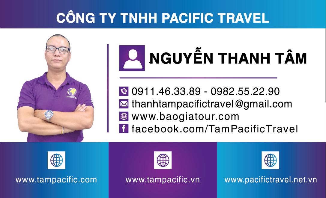 phòng kinh doanh pacific travel