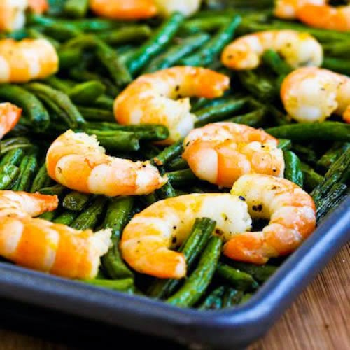 20+ Deliciously Healthy Low-Carb Fish and Seafood Recipes for Spring found on KalynsKitchen.com
