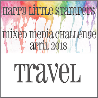 HLS April Mixed Media Challenge