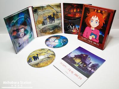 Anime: Review de la edición Blu-Ray Coleccionista de Mary y la Flor de la Bruja - Selecta Visión