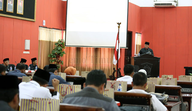 Rapat Paripurna di Kantor DPRD Lumajang
