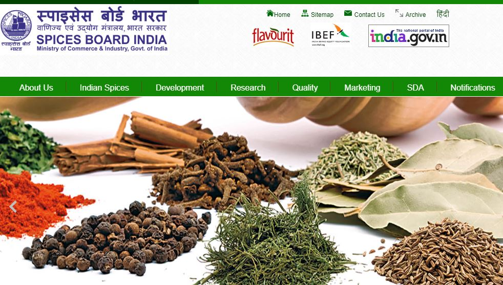 Spices Board Recruitment 2019 for Trainee Analyst Vacancy