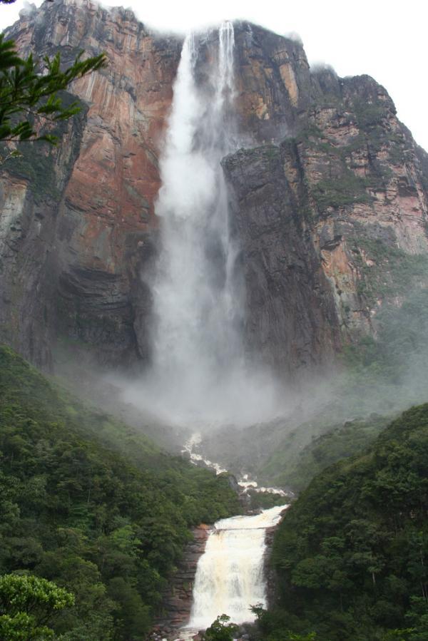 Al Com Mobile >> Cachoeira mais alta do mundo - Salto Angel   Gigantes do Mundo