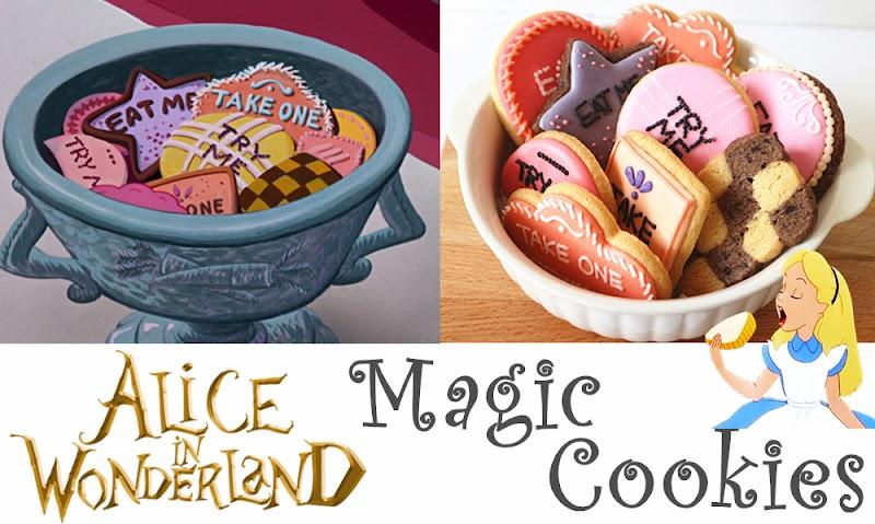 Alice in Wonderland Magic Cookies 愛麗斯夢遊仙景 魔法餅乾