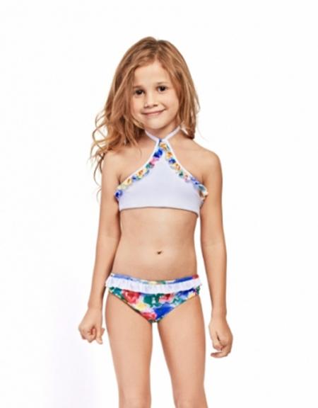 Bikinis infantiles moda verano 2018.