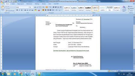 Arsip Kantor Download File Dokumen Gratis Contoh Surat Permohonan