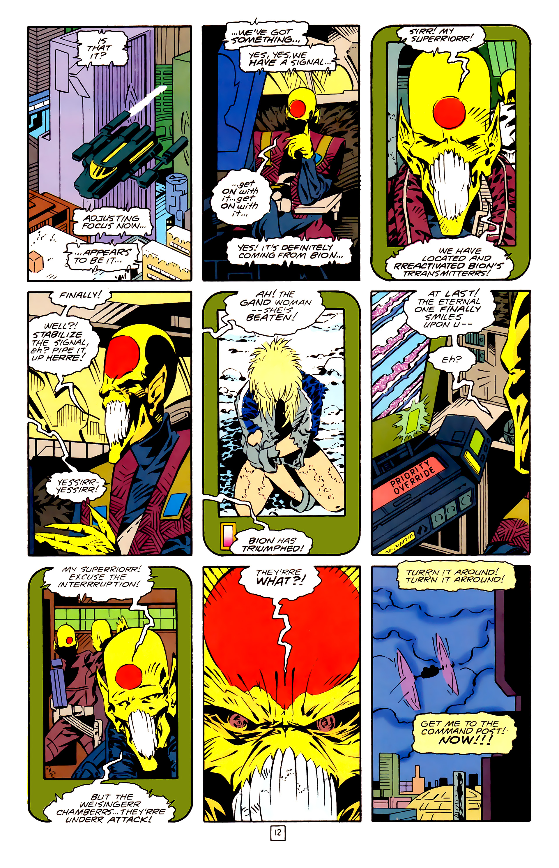 Legion of Super-Heroes (1989) 26 Page 12