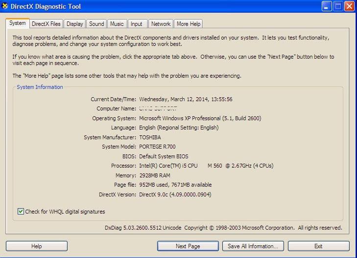 Cara Membedakan Windows 32 bit dan 64 bit - dxdiag