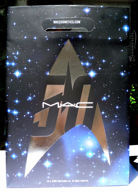 MAC Star Trek makeup collection: shopping bag