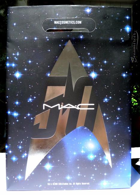 MAC Star Trek makeup collection: shopping bag
