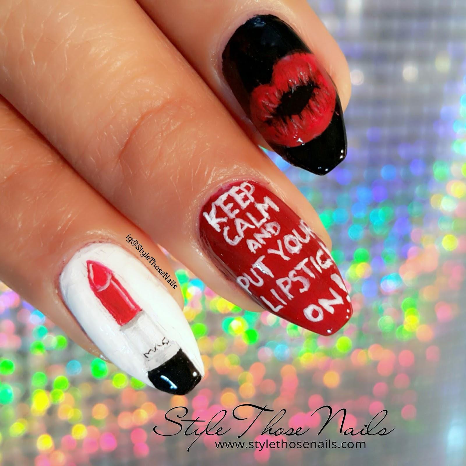 Style Those Nails Nail Collaboration