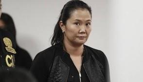 Juez suspende audiencia de prisión preventiva contra Keiko Fujimori