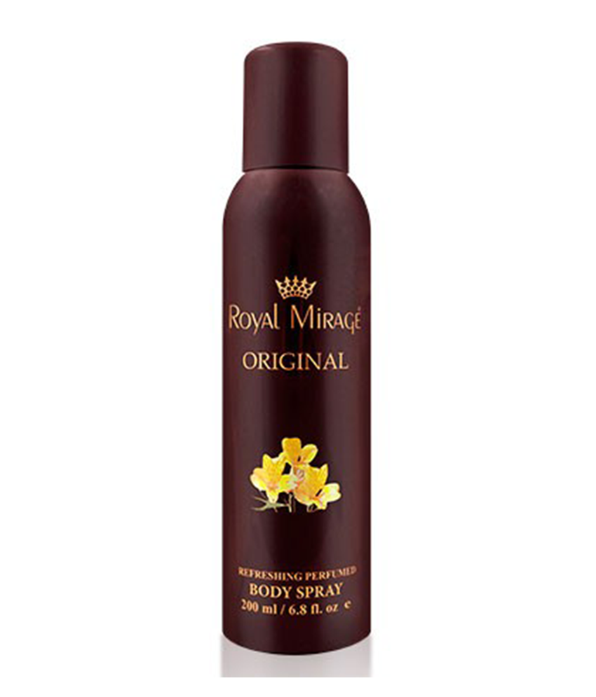 Royal Mirage Original 200 ml Body Spray / 6.8 fl.oz.