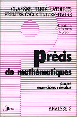 Télécharger Livre Gratuit Précis de mathématiques, Analyse 2 pdf