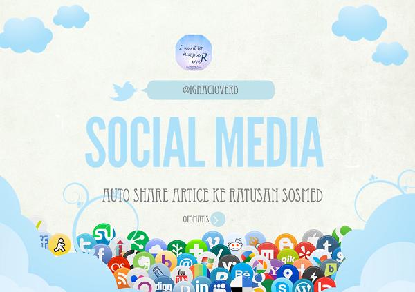 cara share otomatis postingan blog, share blog post, Social Magement tool terbaik, auto post.