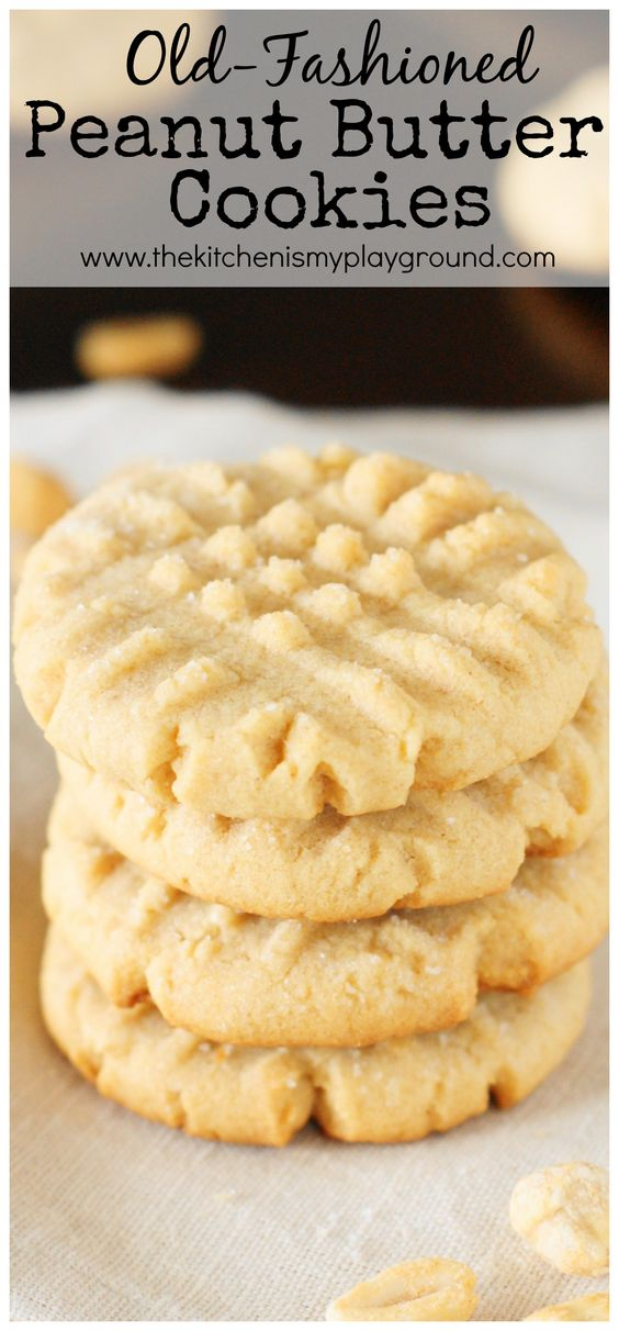 GRANDMA'S OLD-FASHIONED PEANUT BUTTER COOKIES #oldfashioned #peanut #butter #cookies #peanutbuttercookies #peanutbutter #cookiesrecipes