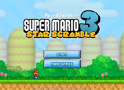 juegos de mario bros star scramble 3