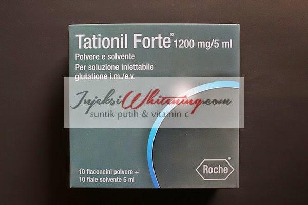 Tationil Forte 12000mg, Tationil Forte12000, Harga tationil Forte, Tationil Injeksi Whitening, Tationil Italy, Suntik Putih Tationil,