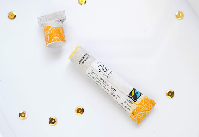 Fable Naturals Vanilla Orange Lip Balm