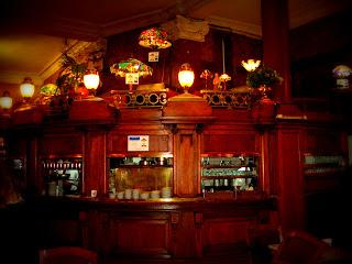 O Belo Bar do Gran Café Tortoni, em Buenos Aires