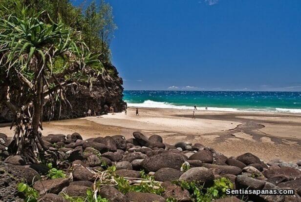 Pantai Hanakapiai, Hawaii