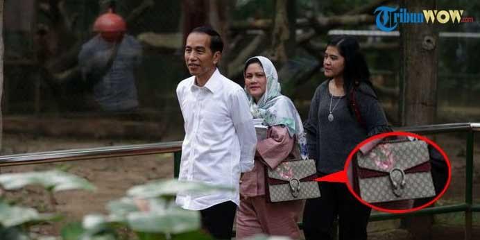Dikenal Sederhana, Iriana Widodo Pakai Tas Mewah saat ke Ragunan, Ternyata Harganya Fantastis Lho!
