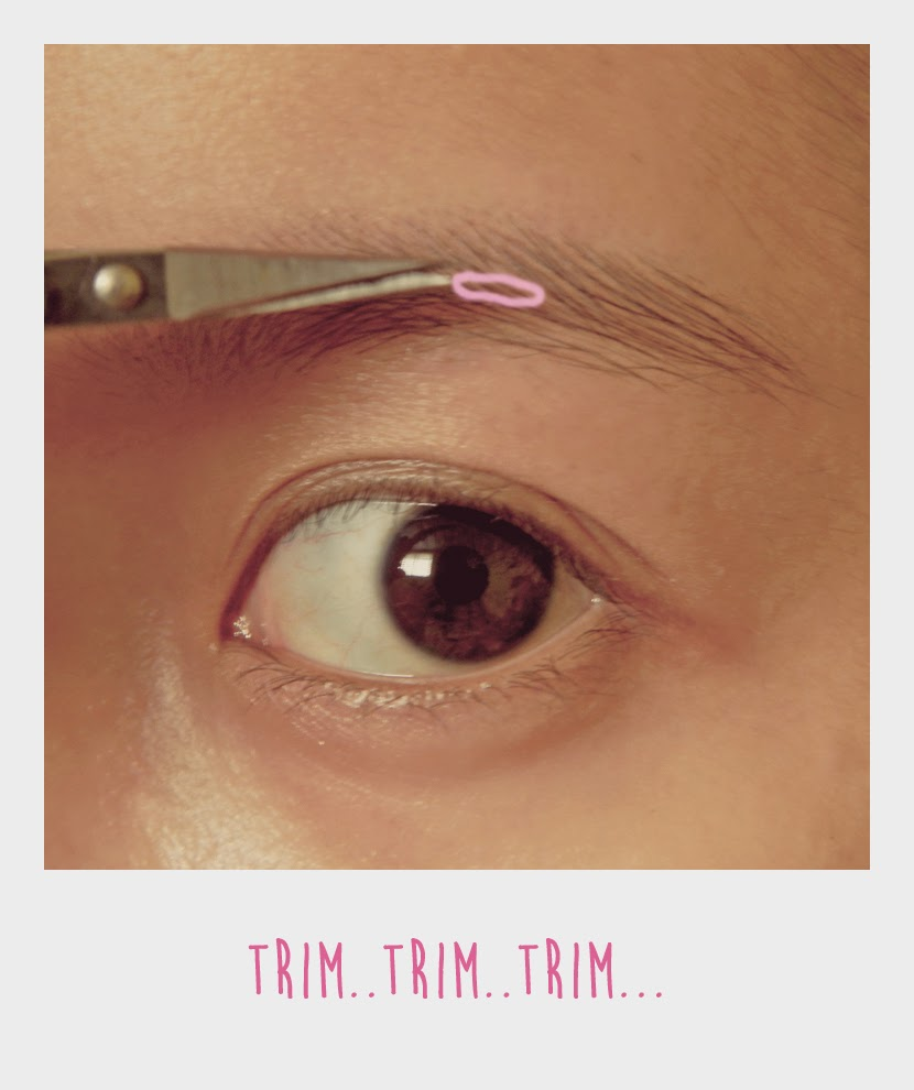 Geek N Pink Korean Straight Eyebrow Trimming