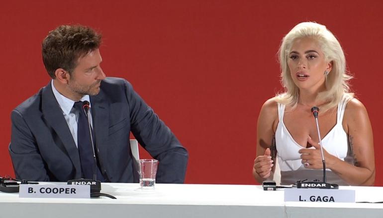 resumen  conferencia de prensa sobre  u0026quot a star is born u0026quot  en