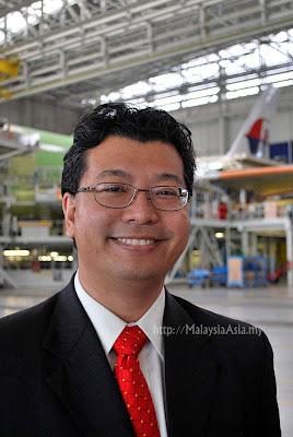 Malaysia Airlines X Ceo Tengku Azmil