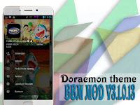 BBM Mod Tema Doraemon & Nobita Apk v3.1.0.13 (Full Feature/Game/Free Sticker)
