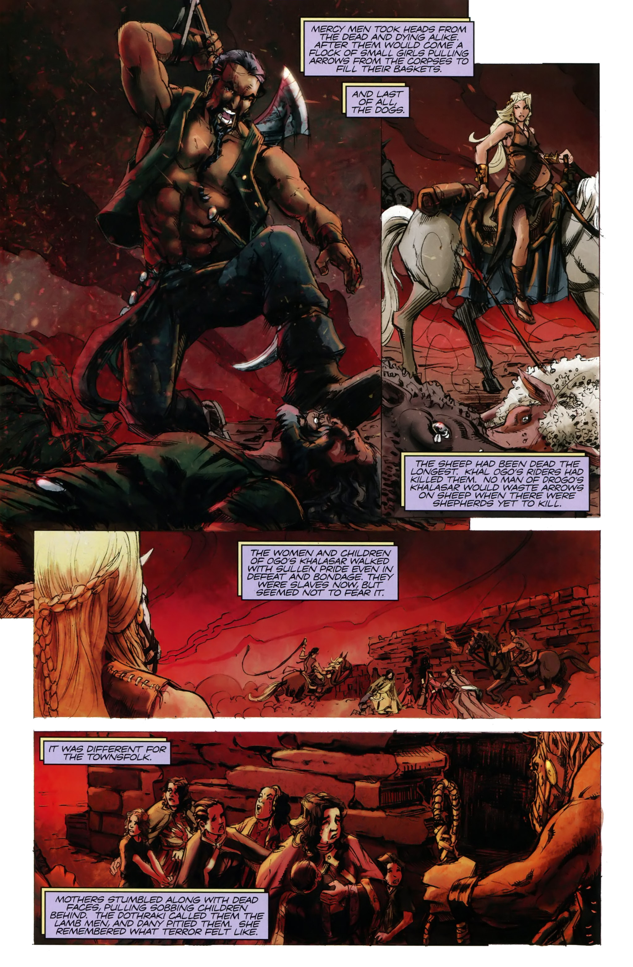 Read online A Game Of Thrones comic -  Issue #20 - 4