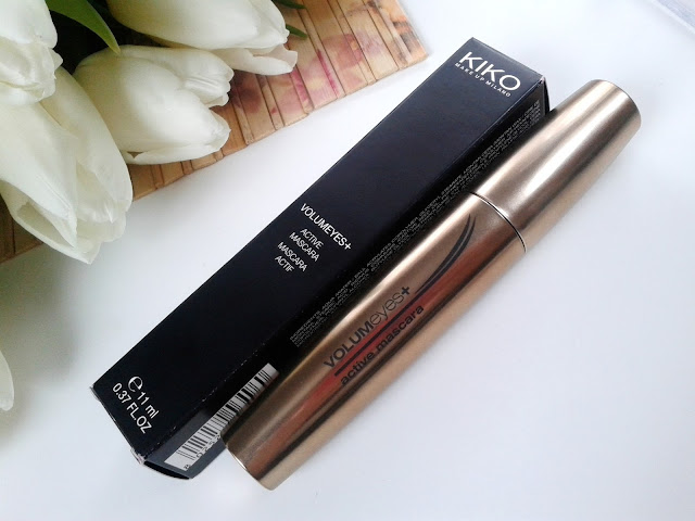 Tusz do rzęs KIKO MILANO Volumeyes Plus Active Mascara