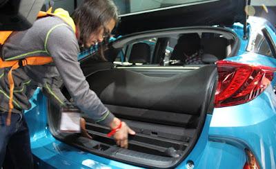 2017 Toyota Prius Prime Boot space