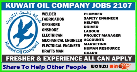 Kuwait oil Company jobs opportunities - APPLY NOW - worldswin | Find
